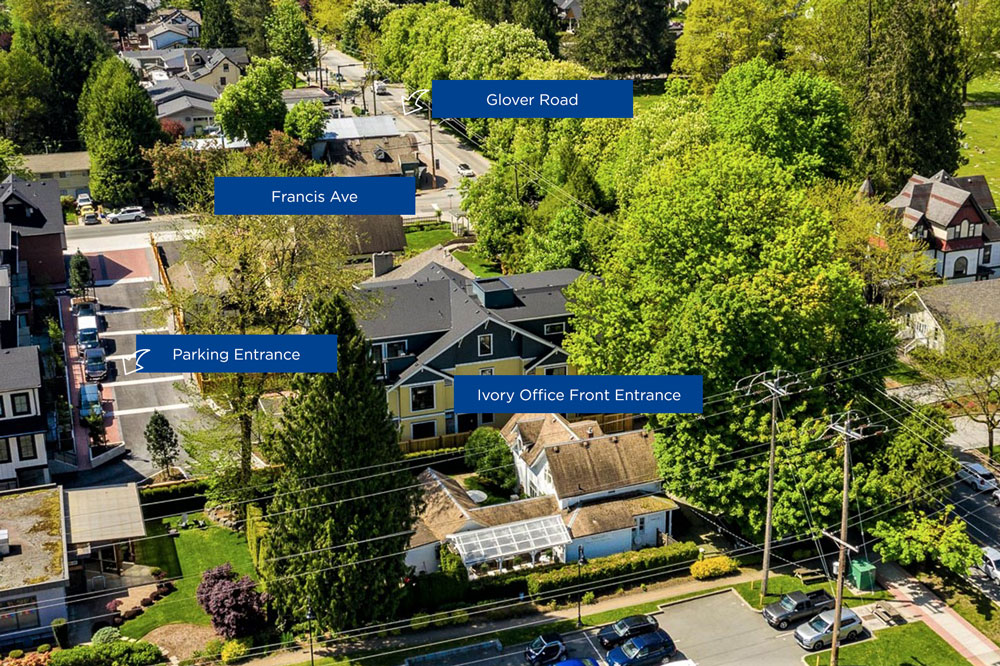 Ivory Planning Group Office, Fort Langley, Where to Park